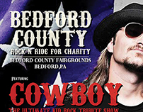 Bedford County Rock And Ride Poster