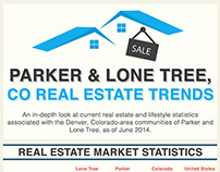 Real Estate Trends in Parker and Lone Tree for June 201