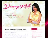 Damaysi Kish | Website Banner Design