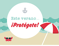 Este verano... ¡Protégete!