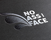 No Ass/Face Logo and online shop based on WordPress