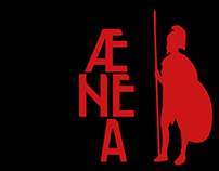 ÆNEA - free typeface
