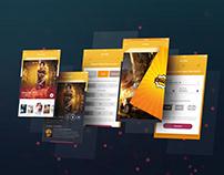 Cinema Ghar App UI Concept