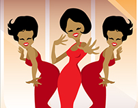 ILLUSTRATION - The Supremes