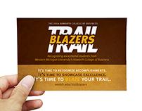Trail Blazers Branding