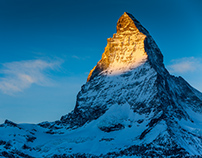 Matterhorn. Swiss Alps