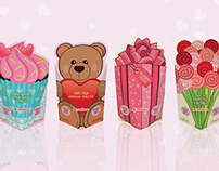 Valentines day packaging design