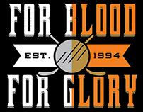 For Blood & Glory Tee - Motion Threads