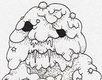 Daily Demon Doodles - June 2014