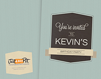 Pet Birthday Invitation