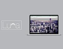 Luna Responsive WordPress Portfolio Theme