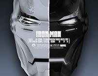 Iron Man Heads - 2013