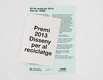 Premi 2013 Disseny per al Reciclatge