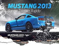 Ford Mustang 2013 / Banner Takeover Rugido / Rich Media