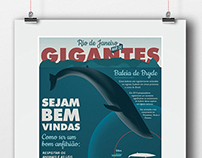 Bryde Whales Poster