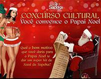 Campanha de Natal 2012 - Sapeka Lingerie