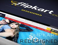 Flipkart (E-Commerce) Website Redesign Concept