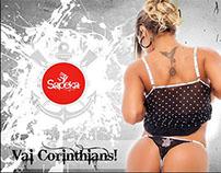 Lançamento Lingerie Vasco e Corinthians