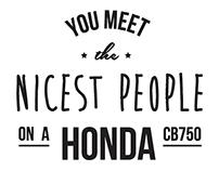 Honda CB750 T-Shirt Design