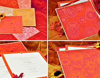 Chakra Wedding Invitation