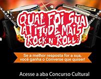 Concurso Cultural - Artwalk e Converse