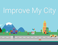 Improve My City website redesign