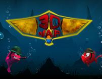 Illustration Design for 3D WAR