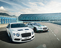 Bentley GT3R launch