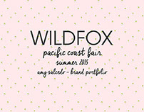 Wildfox / Summer 2015