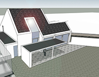 house D. schetsontwerp 01