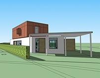 house D. schetsontwerp 04