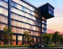 "3D-visualisation for ""Business Center B6"""