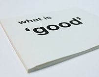 What is 'Good' ?