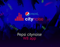 Pepsi citynoise / Windows 8 app