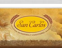 Panadería San Carlos. Identidad + Web