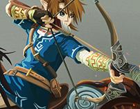 Fanwork - Wii u Zelda Link