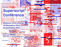 Graphic Design Lectures Series Posters 2013-2014