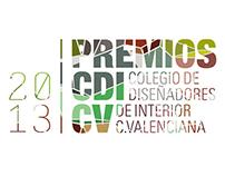 Imagen gráfica PREMIOS CDICV 2013