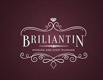 BRILIANTIN - Wedding and Event Planning - Logo Design