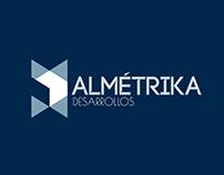 Almétrika Desarrollos. Branding