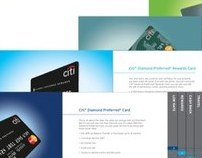 Citibank Card Personalities | Direct Mail Booklet
