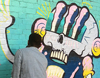 Shoreditch paint session