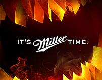 Miller Halloween journey campaign