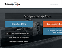 Transporteca Website Redesign