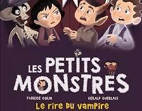 """les Petits Monstres Tome 2. """"Le rire du Vampire"""""""