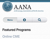 AANA | Web concept