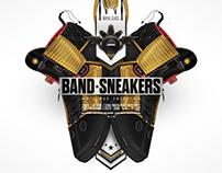 Band Sneakers - Footwear Design
