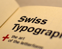 Swiss Typography + the art of the letterform