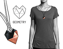 GEOMETRY HEART / jewellery