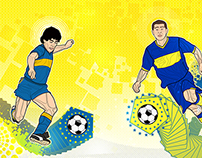 LEGENDS OF BOCA JUNIORS